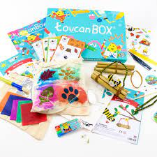 toucanBox 3 Craft Boxes